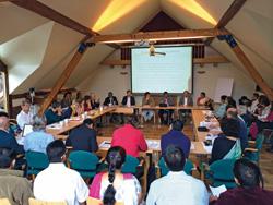 Ayurvedische Ordnungstherapie und ayurvedische Phytotherapie sind u.a. Themen des diesjährigen Ayurveda-Symposiums