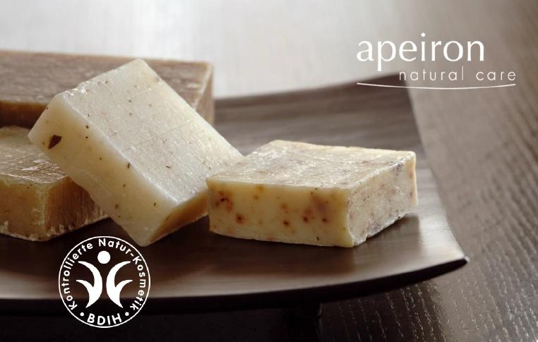 Apeiron Pflanzenöl-Naturseifen- Ein luxuriöses Pflegegefühl handgefertigter Seifen-Kunst erleben!