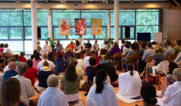 Interview zum 8. Ayurveda-Kongress bei Yoga-Vidya