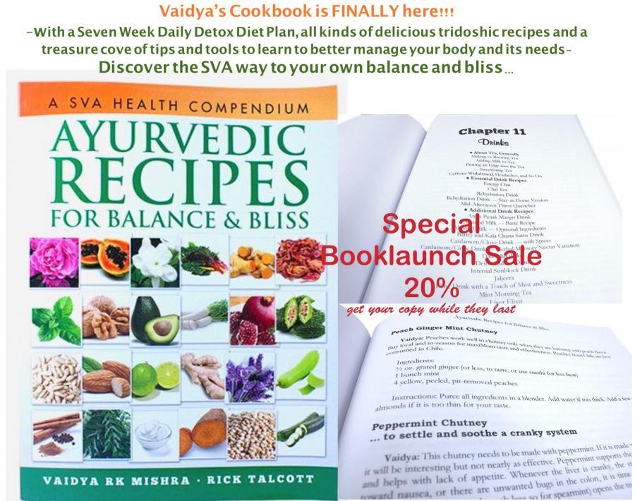 NEU: Englisches Kochbuch von Vaidya Mishra