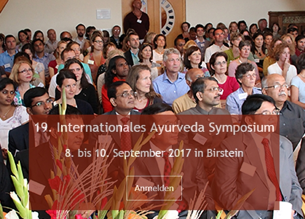 19. Internationales Ayurveda - Symposium 2017 in Birstein