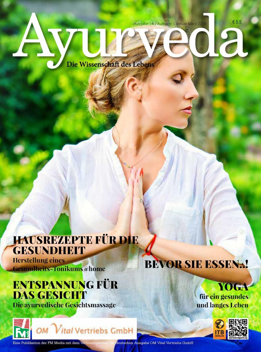 Ayurvedisches Wissen direkt aus Indien - die Ayurveda Zeitschrift