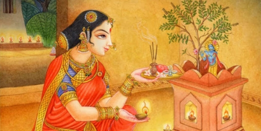Das heilige, indische,